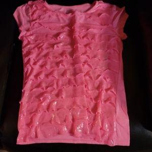 Girls pink tshirt